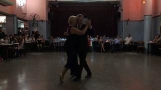 Silvia y Alfredo Alonso en Club Malcolm 9 de  Noviembre 2018