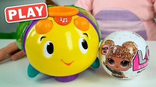 РАСПАКОВКА ЛОЛ LOL Confetti Pop - Поиграйка с Катей - Свинка Няша - КУКУТИКИ PLAY