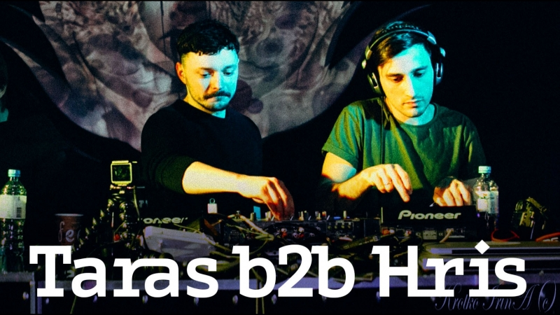 Hris b2b Taras Melodicotronica @ Samskara Artplay Moscow