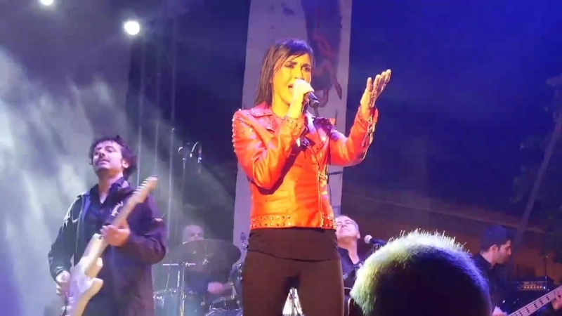 Fiordaliso Una sporca poesia Live a Belmonte Piceno 05 05 2018