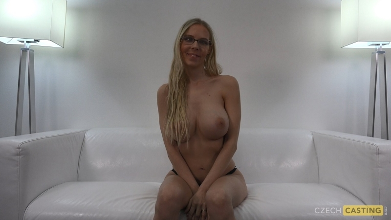 Кастинг по гречески Czech Casting Florana Casting, POV, Big tits, Blonde, Deepthroat,