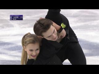 Arina USHAKOVA / Maxim NEKRASOV RUS- ISU JGP Final - Ice Dance - Short Dance - Nagoya 2017