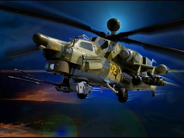 Ударный вертолёт Ми 28Н Ночной охотник 2016