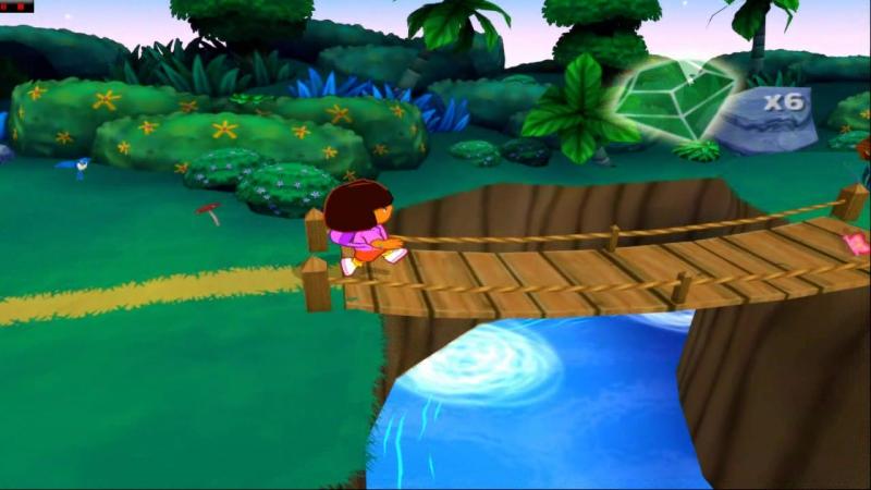 Dora the Explorer To the Purple Planet USA PCSX 2 16 9 HD 720 p