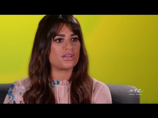 Lea michele on how 'places' should be heard