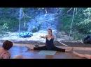 Йога и танец полноценная тренировка на Ладожском пляже