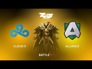 Cloud 9 vs Alliance, Game 1, Zotac Cup Masters, EU Qualifier