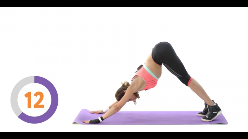 Как убрать жир со спины 8 упражнений