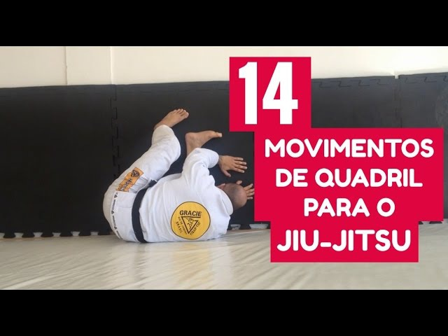 14 MOVIMENTOS DE QUADRIL PARA O JIU-JITSU