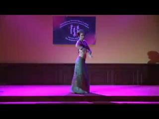 Svetlana Bulash performs at 'Goddess of Dance' Festival. 2915