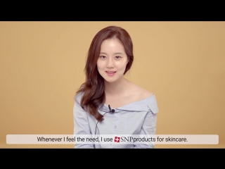 SNP  Интервью Мун Чхэ Вон 1 для рекламы косметического бренда SNP _ English ver.