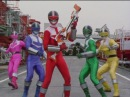 Red Ranger s Electro Booster First Fight Power Rangers Time Force