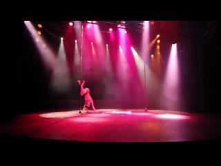 "Pole Theatre Greece 2017 - Classique Professional - Marina Bogomolova ""Kira Noire"""