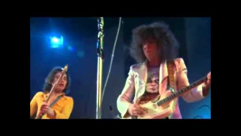 T Rex - Bang A Gong - (Get It On) - live Concert Wembley - 18th March 1972.3gp