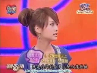 [29 Jun 2007] Rainie's Love 100% - WWL Cast 1/5 (eng subs)