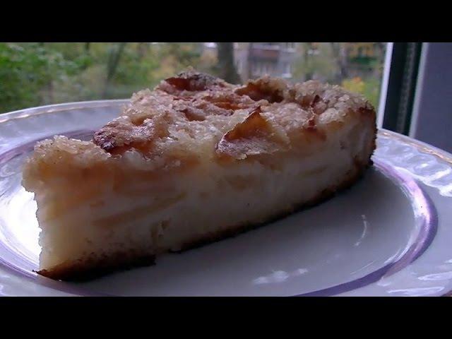 Яблочный пирог Легкий очень вкусный как восточные сладости APPLE PIE