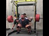 Алекс Симон, приседания 435 кг