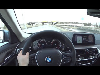 2017 BMW 520d xDrive G30 POV Test Drive