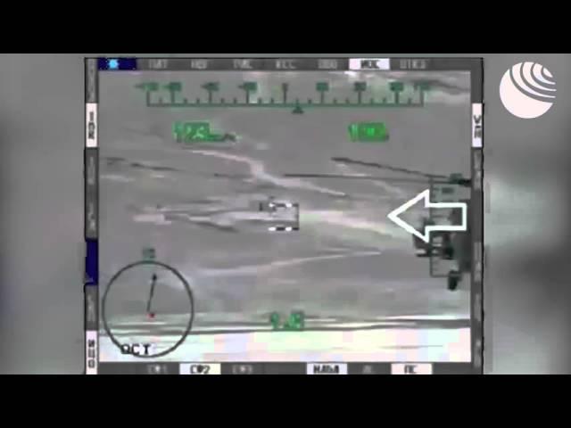 Ми 28Н уничтожают технику террористов в Сирии