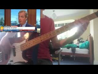 Nigel Farage's 350m interview | Bass Cover