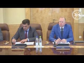 Встреча Президента Республики Татарстан с руководством компании Гуриш и Рус...