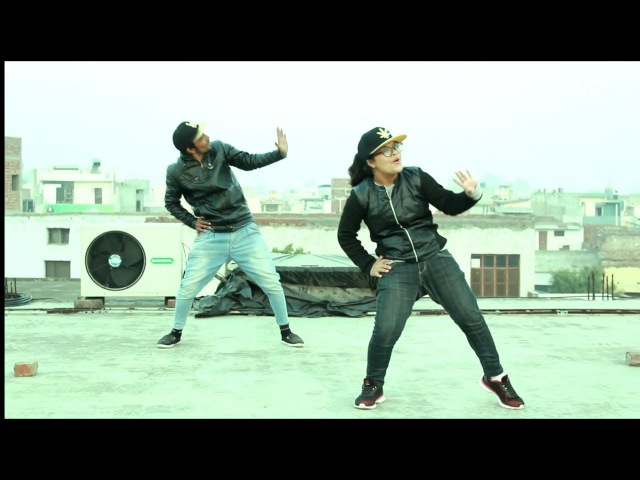 ANKIT BHATT AND RHYTHM SHARMA GARHWALI HIP HOP DANCE Must watch Bollywood hiphop dance