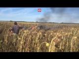 Видео с места падения самолета Як-130