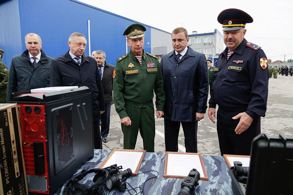 Сотрудники Росгвардии провели 184 специальные операции на территории Тульской области