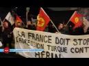 Paris'te Efrîn Direnişine Destek Erdoğan'a Öfke Eylemi