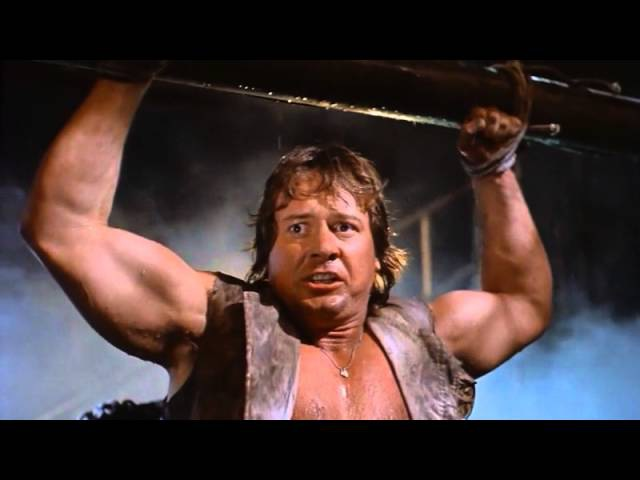 Roddy Piper loses his chastity belt