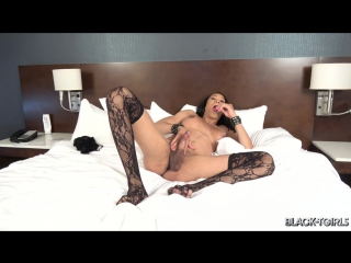 [Black-TGirls.com] Kiara Cannon - Kiara Cannon Is Back! (Трансы порно shemale Tranny porn sissy tranny трапы анал)