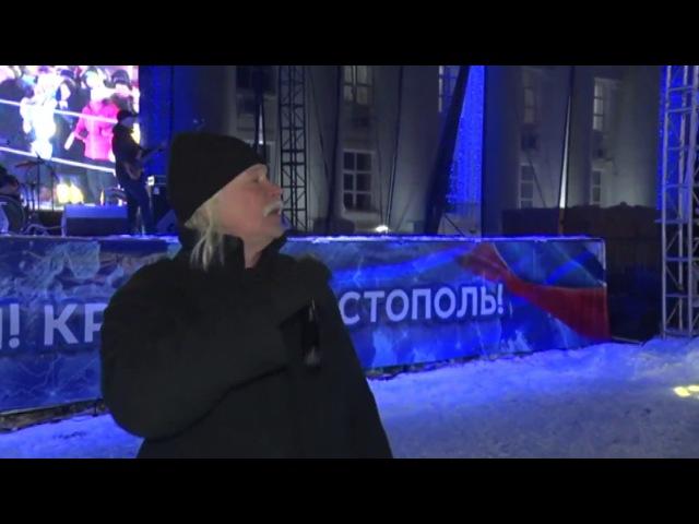Сергей Скачков на пл Ленина спел легендарные хиты а ульяновец получил в подарок новенький УАЗик