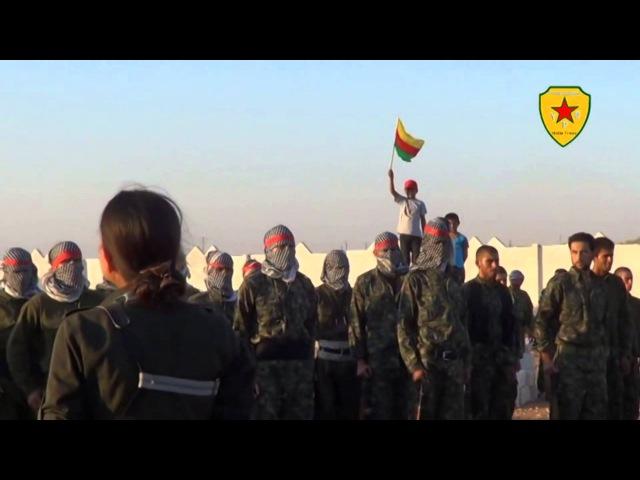 Hunermend Hejar Seyda Û Ridwan Deriki Ki Parezvane Wela YPG