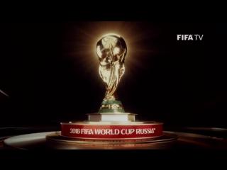 Официальная ТВ-заставка Чемпионата мира FIFA 2018 в России.