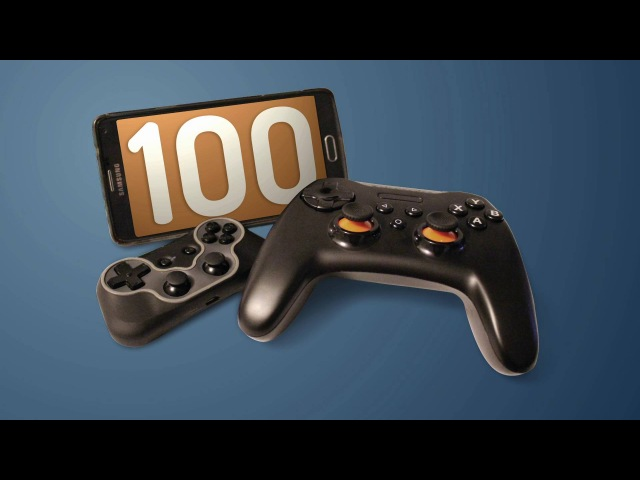 100 Android Games with Bluetooth Gamepads