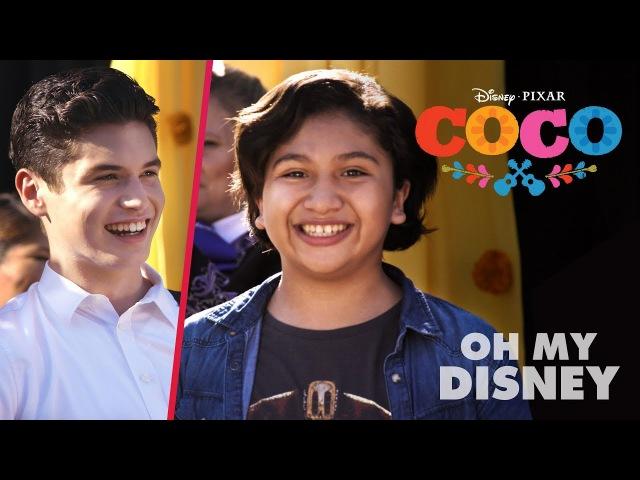 Anthony Gonzalez Sean Oliu Cover Coco's Un Poco Loco | Oh My Disney
