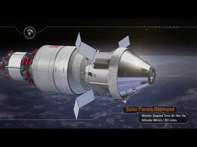 NASA Exploration Mission 1 Pushing Farther Into Deep Space