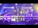 · Fancam · 180408 · OH MY GIRL - A-ing · 2018 Korea - Thailand Volleyball All Star Super Match ·