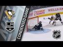 Pittsburgh Penguins@Los Angeles Kings(G48:25-20-3)(18.01.18)(3:1)