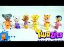 Сюрпризы с игрушками Twozies милыми малышами Surprises with toys Twozies cute kids
