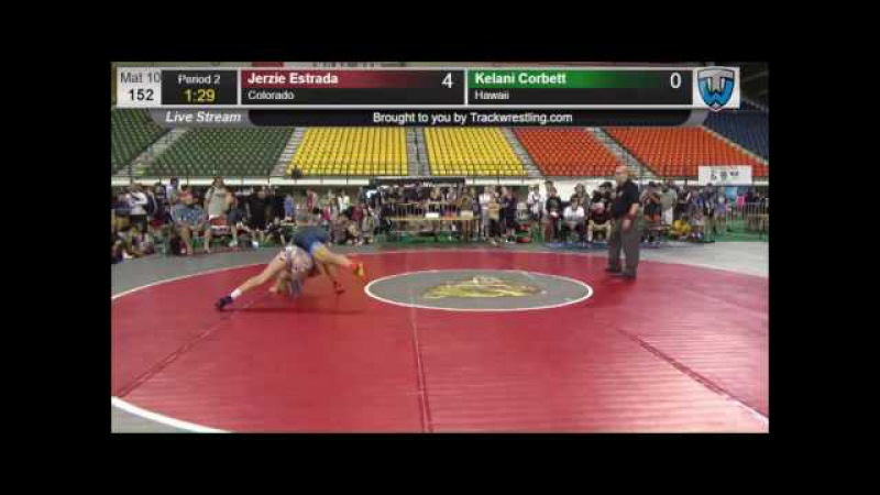 573 HS GIRLS 152 Jerzie Estrada Colorado vs Kelani Corbett Hawaii 8419451104