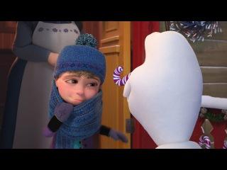 Олаф и холодное приключение и 6 зимних историй
