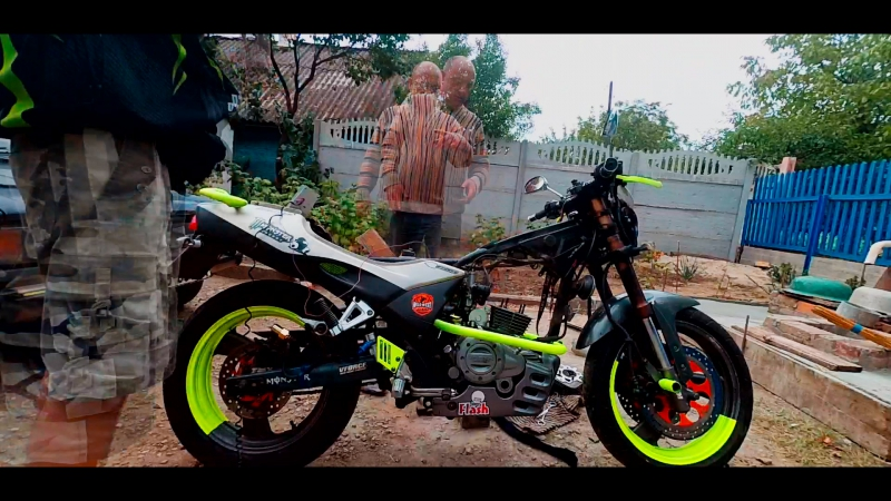 My Bicke Monster Energy Time Laps