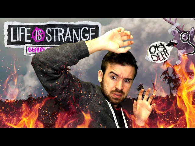 ПОЖАР РАЗГОРАЕТСЯ Life is Strange Before the Storm Episode 2 1