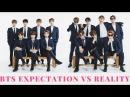 BTS Expectation Vs Reality 8 Kpop [VKG]