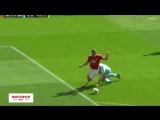 Легенды МЮ - Легенды Барселоны 1:0. Ван Нистелрой (пенальти)