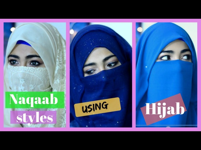 Quick Naqaab Styles Using A Hijab Soubia Bhat