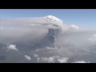 Japanese volcano rumbles to life after six-year dormancy period. .