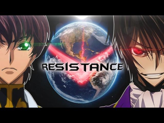 Code Geass「AMV」 Skillet The Resistance HD