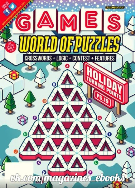 Games World of Puzzles  December 2017